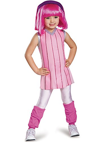 Disguise Lazy Town Stylin' Stephanie Deluxe Child Halloween Costume Child Large Size 4-6]()