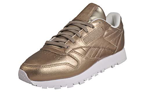 Reebok Classic Leather L, Damen Low-Top Sneakers Gold
