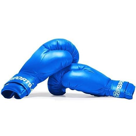 blau Training Gloves f/ür Boxen und Kampfsport Box-Handschuhe 12 oz ScSPORTS Boxhandschuhe mit hohem