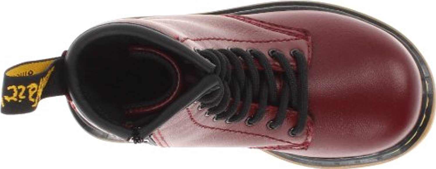 Dr. Martens Brooklee Softy T Cherry Red, Unisex Kids' Boat Shoes, Cherry Red, 6 UK Child