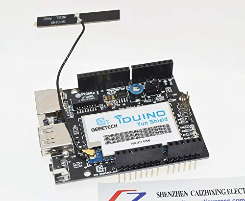Linux, WiFi, Ethernet, USB, All-in-one Yun Shield Compatible with Arduino Leonardo, UNO, Mega2560, Duemilanove
