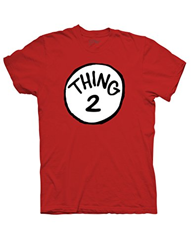 Thing 2 T-Shirt - Small - Red (Thing1 And Thing2)