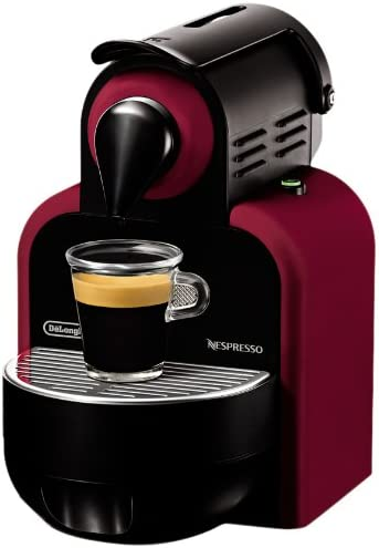 Nespresso Essenza Automatic Glam Red EN95R DeLonghi - Cafetera ...
