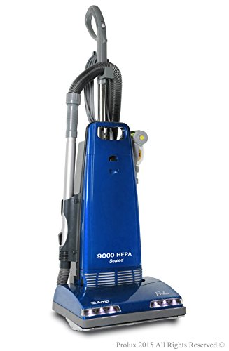 New Prolux 9000 Upright Sealed HEPA vacuum with 12 AMP Motor on board tools and 7 Year (Bypass Vacuum Motor)