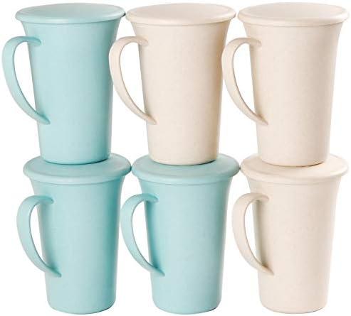 Coffee Mug Set lid Unbreakable product image
