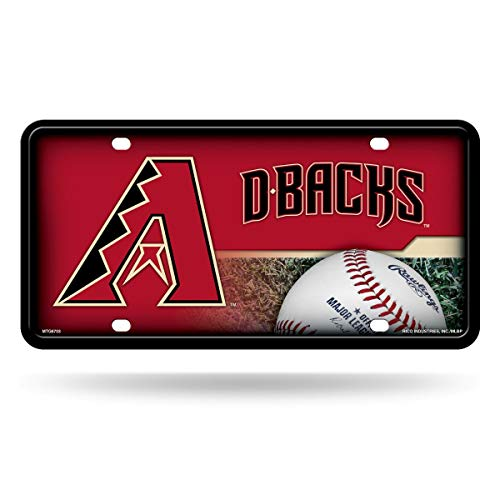 MLB Arizona Diamondbacks Metal Auto Tag