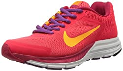 Nike Women's Zoom Structure +17 Vlt Shd/Trb Grn/Bright Grp/Vlt Running Shoe 6 Women US