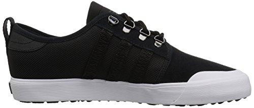 Adidas Originali Da Uomo Seeley Outdoor Sneaker Nero / Nero / Bianco
