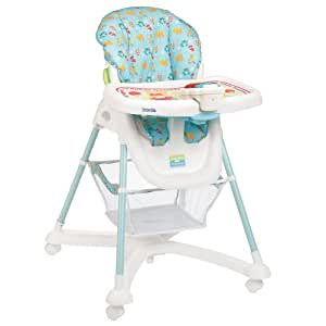 Sesame Beginnings Deluxe Reclining High Chair (Discontinued by Manufacturer)