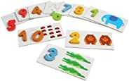 Number Match Math Activity for Kids by Constructive Playthings