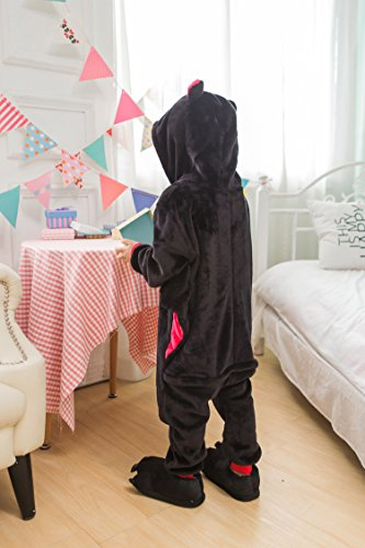 Onesie Animal Halloween Cosplay Tonwhar Bat Kigurumi Mehrfarbig Kids Costumes Children' S cWYqwqf4S