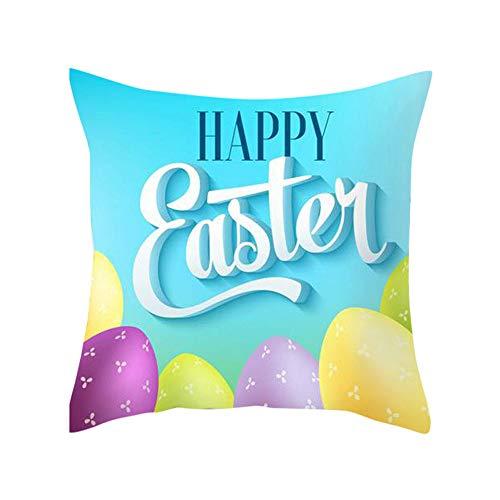 Peanut Pillows Pregnancy - LOKODO Easter Rabbit Print Pillow Case