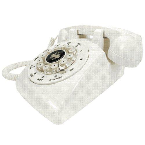 Crosley Phone Telephone (Crosley Ivory Desk Phone)