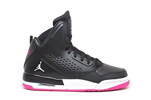 Jordan Jordania Nike Kids SC-3GG Zapatillas de baloncesto Black White Deadly Pink
