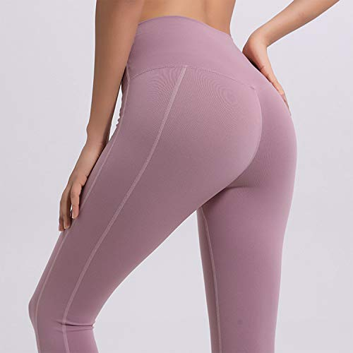 A Pantaloni Quotidiana Puro Sportivi Corsa Vita Per Yoga Allenamento Opzionale Semplice Donna L'usura Da Pink Alta Colore Leggings Casual Cjjc pf4Iqw