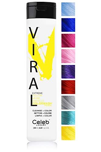 Celeb Luxury Viral Colorwash: Yellow Color Depositing Shampoo