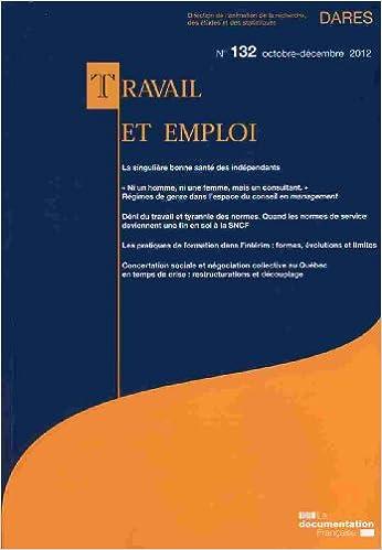 Book Travail et emploi n° 132