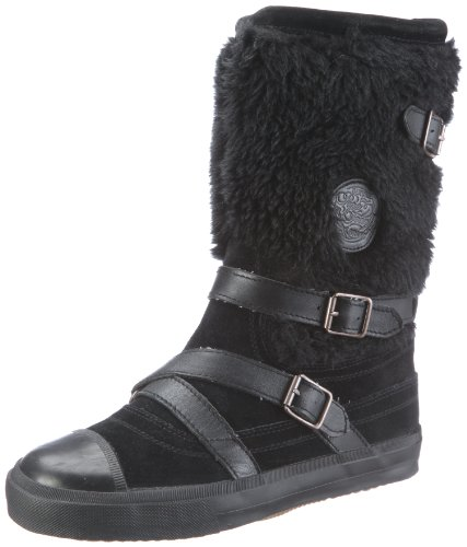 para de Botas B Negro Schwarz Black lona Jeans London 244 Pepe Euston EU mujer wqz4RA4a6