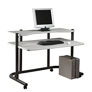 "Studio Designs 48""Computer Workstation in Pewter / Grey 18650"