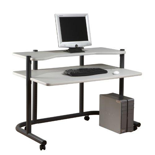 Studio Designs 48''Computer Workstation in Pewter / Grey 18650 by Studio Designs