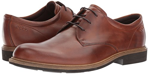 ECCO Men's Findlay Plain Toe Tie Oxford, Cognac, 42 EU / 8-8.5 US by ECCO (Image #6)