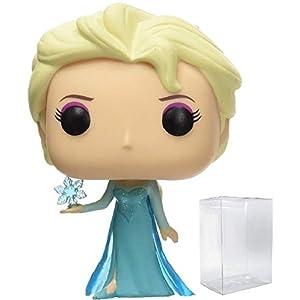 Disney Funko Frozen – Elsa #82 Funko Pop! Vinyl Figure (Includes Compatible Pop Box Protector Case)