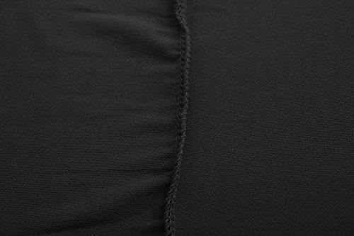 Women Lightweight Shrugs Sun Protection Cooling Shawl Tumble Hole Cycling,Golf (Black) by Rgslon (Image #6)