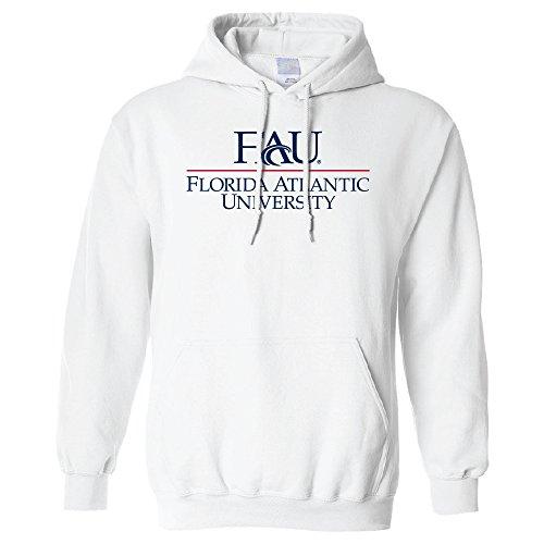 Ncaa Florida Atlantic Owls Long Sleeve Hoodie  3X Large  White