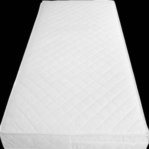 Anti-Bacterial Baby Junior / Toddler Cot | Cot Bed Foam Mattress with Quilted Breathable Zip Cover (160 x 70 x 10cm) TOP STYLE