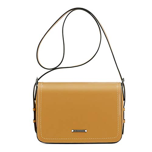 - Women Messenger Bags PU Leather Women Crossbody Bags Female Flap Crossbody Bag,Yellow,China