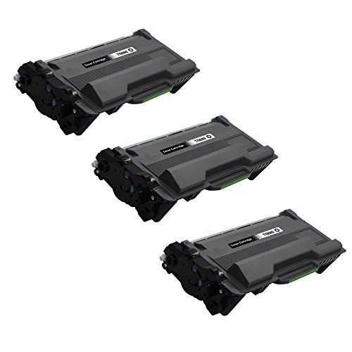 3 Pack UniVirgin Compatible Replacement for Brother TN-880 TN880 High Yield Toner Cartridge – Black color, 12,000 pages (3 Colours Compatible Cartridges)