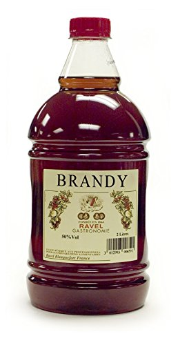 Brandy Seasoned Liqueur- 40% Alcohol Level (Only for Cooking- Not Drinking) (Best Brandy For Baking)