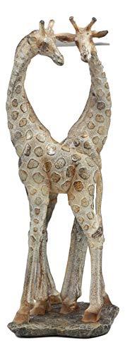 - Ebros Large Mosaic Twin Giraffe Couple Statue 12.5