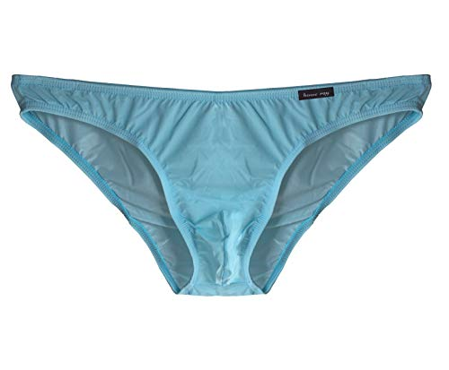 Sheer Silk Thongs - WINDAY Men's Sexy Underwear Thong G-String Elastic Smooth Bikini Airplane Underwear