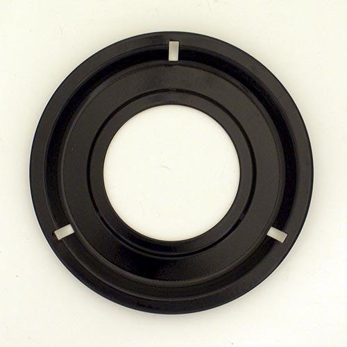Range kleen Drip Pan Porcelain / Black 8.25'', Single Pack