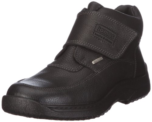 Jomos Heren Lederen Laarzen Zwart