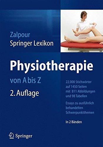 Springer Lexikon Physiotherapie: von A-Z