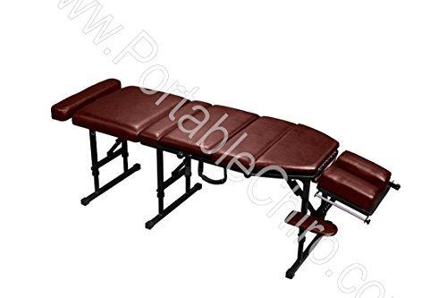 - Portable Chiropractic Drop Table - Black