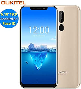 Oukitel C12 Pro,Face ID 6.18 Inches 18:9 FHD Display Android 8.1 ...