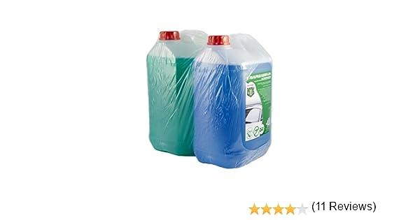 Motorkit ZMOTLIM1 Pack Anticongelante y Lavaparabrisas 10% y 5% Antimosquitos, Verde: Amazon.es: Coche y moto