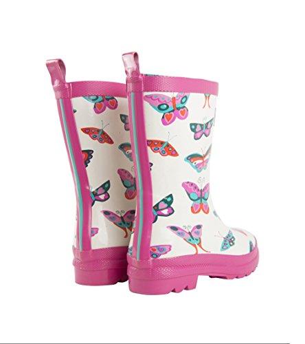 Hatley Butterflies - Botas de Agua Para Niñas Groovy Butterflies