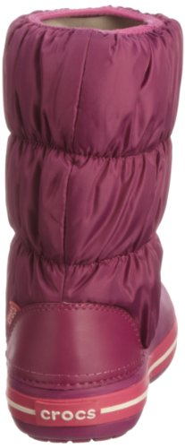 Crocs Winter Puff Boot - Botas de nieve, Mujer Viola (Viola/Fuchsia)