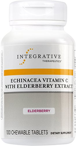 Integrative Therapeutics - Echinacea Vitamin C with Elderberry Extract - Immune Function (Sore Throat Tabs 100 Tablets)