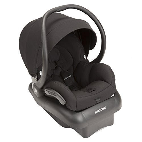 Maxi-Cosi Mico AP Infant Car Seat, Devoted Black (Cosi Base Ap Maxi)