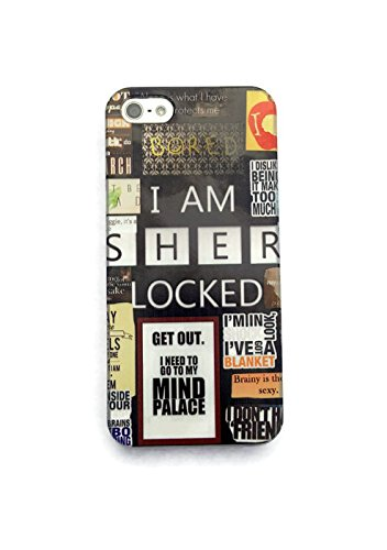 iPhone 6S Case , ThePhoneCaseCo Clear Premium iPhone 6 Case TPU (4.7 Inch) [Scratch Resistant) Cover Casesl Apple iPhone 6 6S I Am Sherlock Holmes