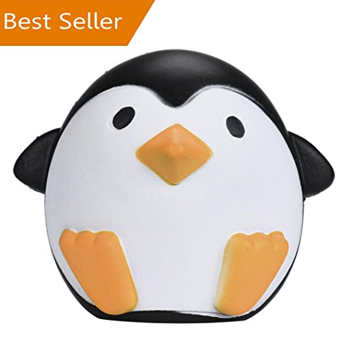 - WILLTOO Slow Rising Squishies (WILLTOO-113947) 12CM Cute Penguins Cream Scented Decompression Kids Toys