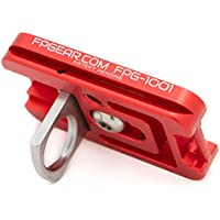 Arca-Swiss Compatible Fusion Plate - Black Rapid Tripod Plate - Color Red