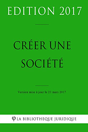 creer-une-societe-french-edition