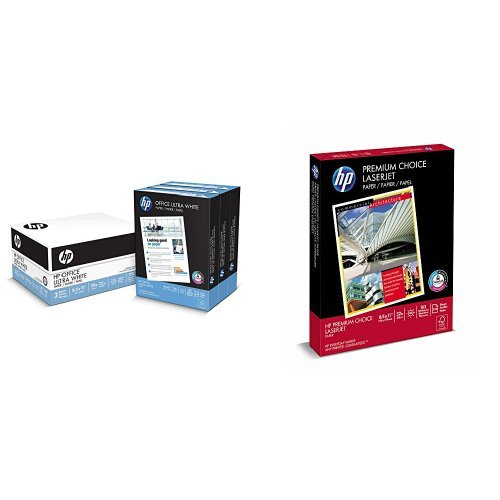 - HP Printer Paper, Student Value Pack - Copy and Presentation paper in one (112090-113500)