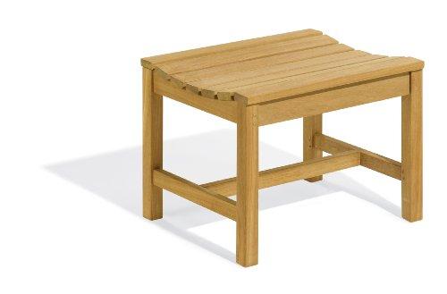 - Oxford Garden 2-Foot Shorea Backless Bench | 100% Tropical Shorea Hardwood Outdoor Furniture